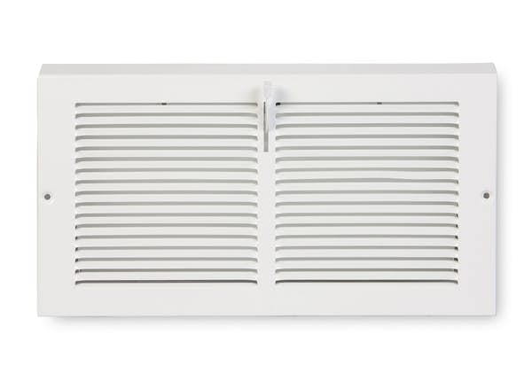 175 Series Triangular Baseboard Register