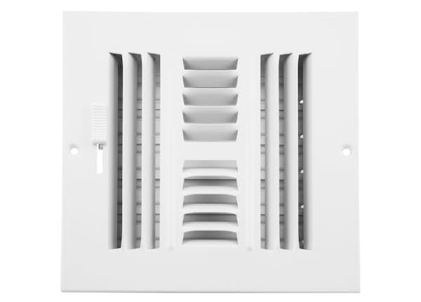 204 Series 4-Way Sidewall/Ceiling Register