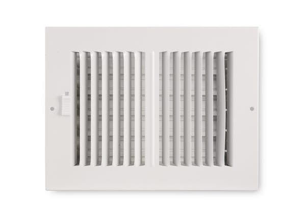 252 Series Plastic 2-Way Sidewall/Ceiling Register