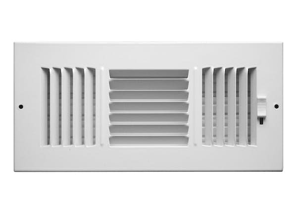 253 Series Plastic 3-Way Sidewall/Ceiling Register