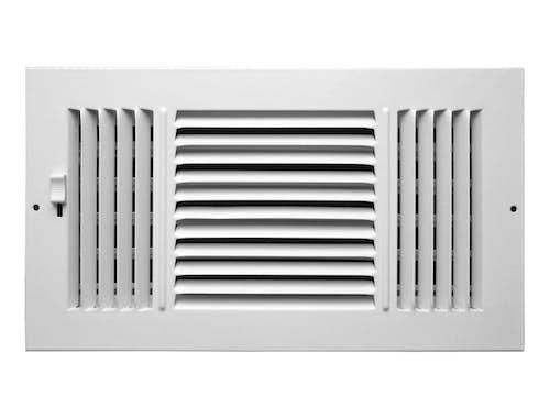 253 Series Plastic 3-Way Sidewall/Ceiling Register