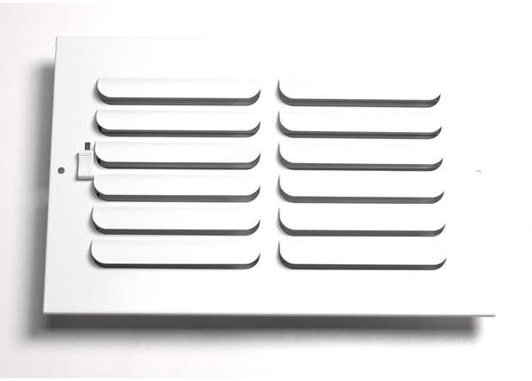 261 Series 1-Way Curved Blade Sidewall/Ceiling Register