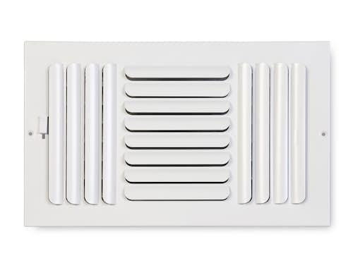 263 Series Curved Blade 3-Way Sidewall/Ceiling Register