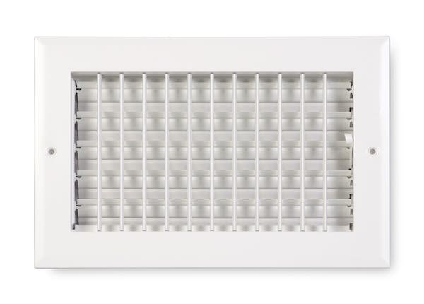 270 Series Aluminum Sidewall/Ceiling Register with Adjustable Fins