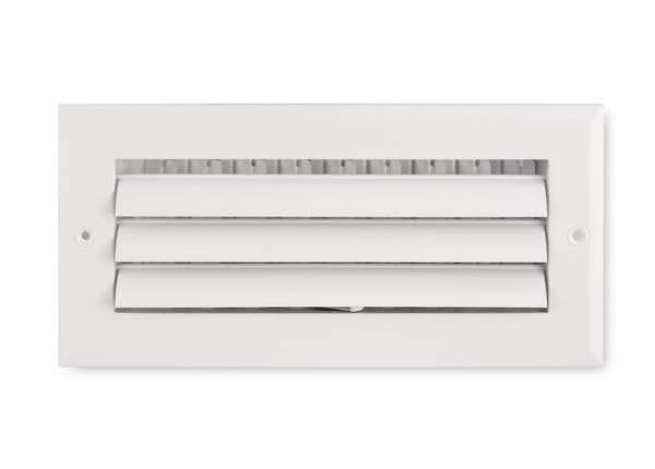 281 Series 1-Way Aluminum Curved Blade Sidewall/Ceiling Register