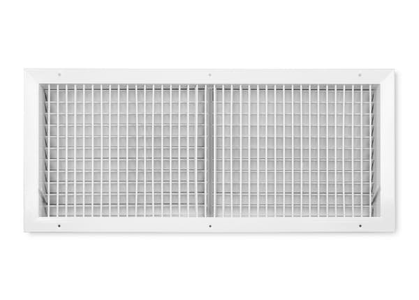 455 Series Aluminum Vertical Single Supply Register