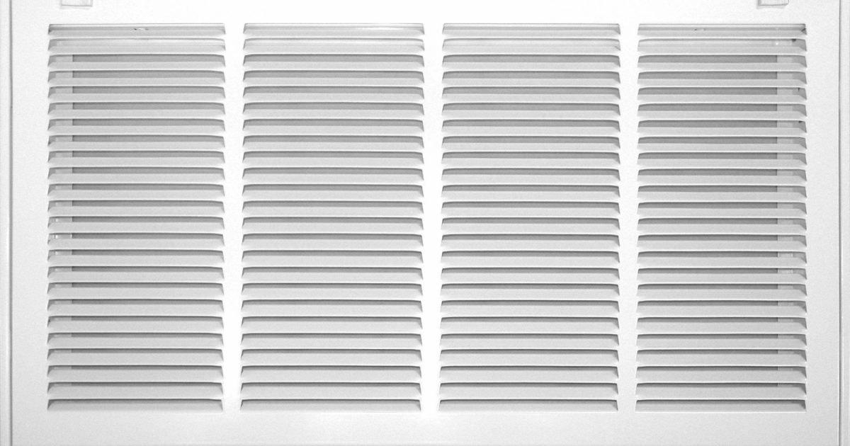 520 Series Return Filter Grille Accord Ventilation