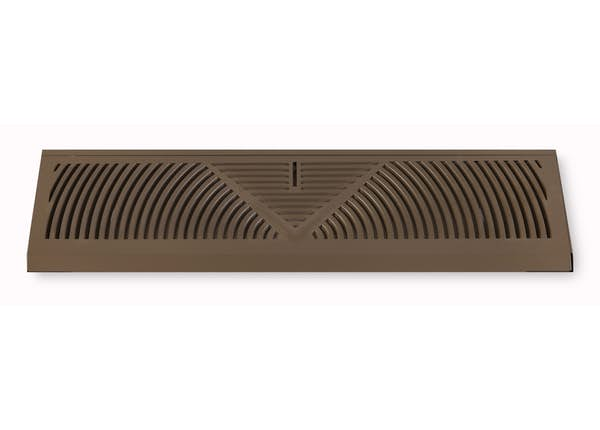 155 Series Triangular Baseboard Return Air Grille