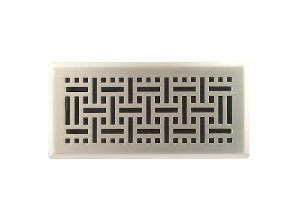 Wicker Floor Register