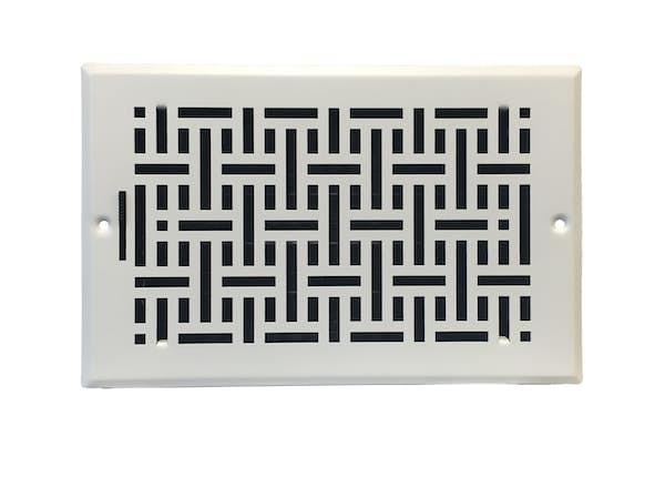 Wicker Sidewall Ceiling Register